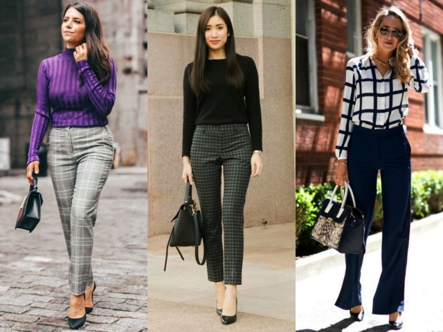 Unboring Trouser and Blouse Office Attires for Women