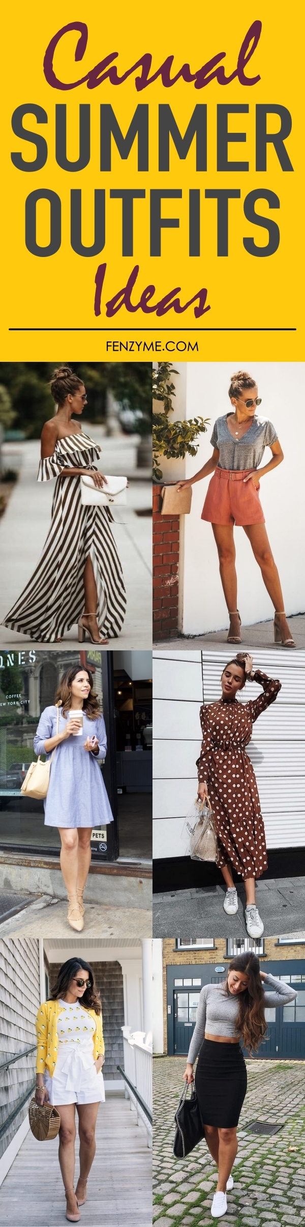 Casual Summer Outfits Ideas