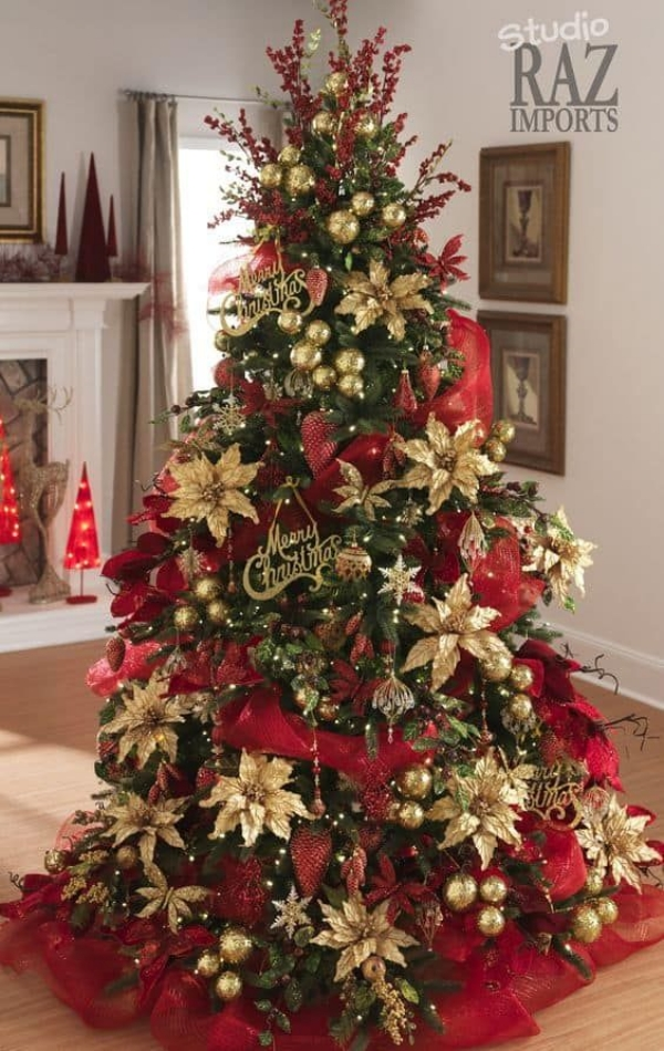 Beautiful DIY Christmas Tree Decorating Ideas
