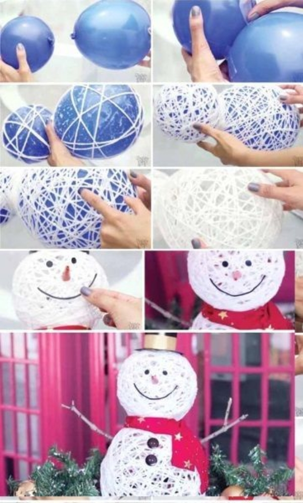 DIY Snowman Craft Ideas to try this Winter