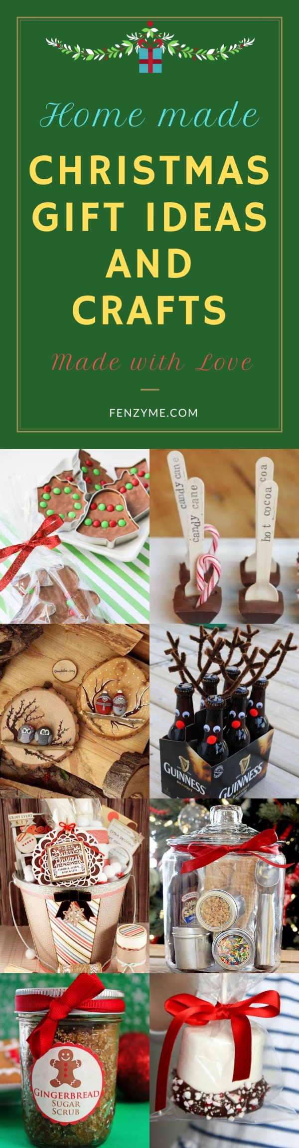 Homemade Christmas Gift Ideas and Crafts (Made with Love)