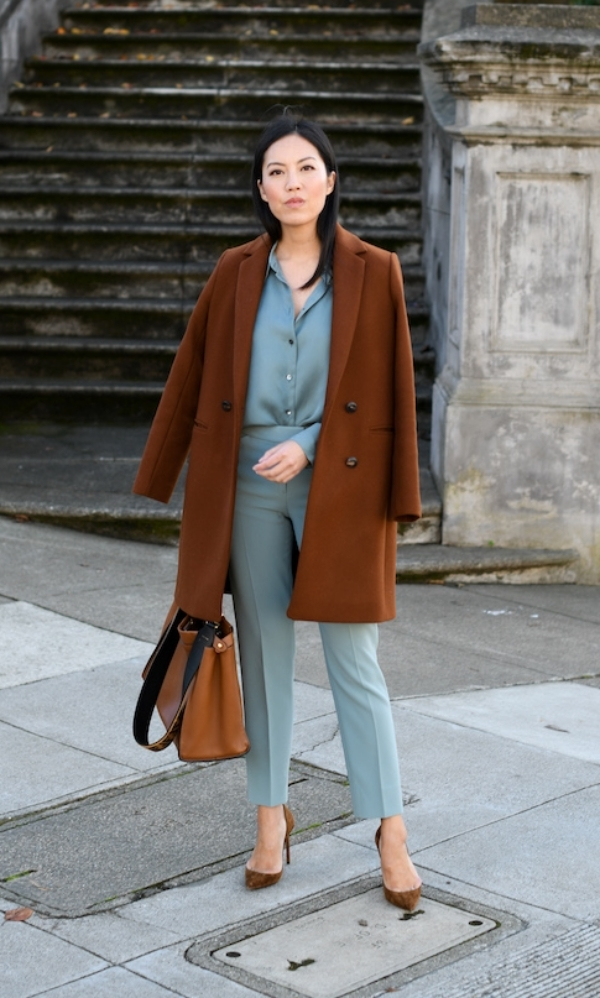 Casual Winter Work Outfits for Professionals